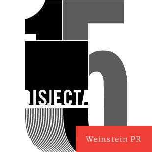 Disjecta 15 Year anniversary logo