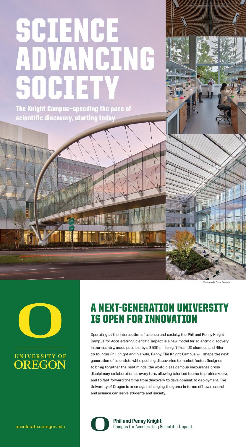 New York Times Ad University of Oregon Weinstein PR